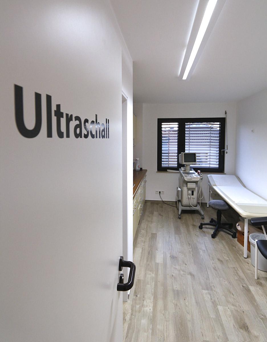 Praxis Hausarzt Dr. Konner: Ultraschall Raum